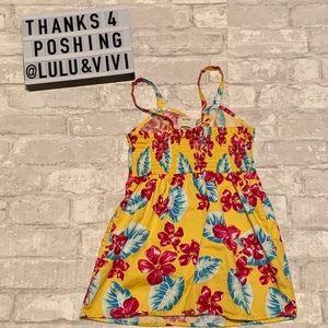 OSHKOSH B'GOSH Yellow Hawaiian 🌺 Print Dress